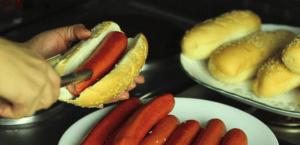 grill hot dogs on stove