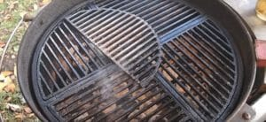 cast iron grill grates
