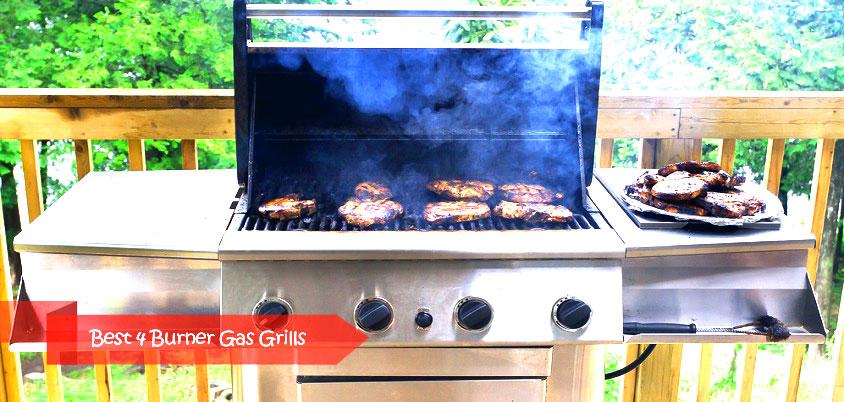 best 4 burner gas grills